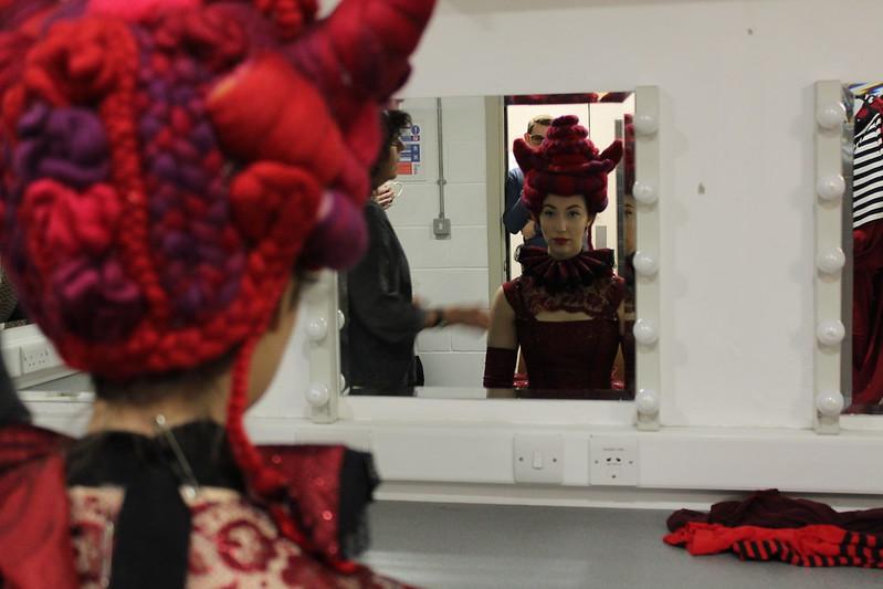 Alice in Wonderland Wardrobe tour / Red Queen fitting