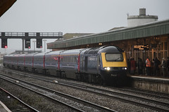 HST swansong: Cardiff Central