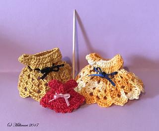 Virkattuja mekkoja - Crocheted dresses