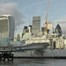 HMS Belfast and the City of London
