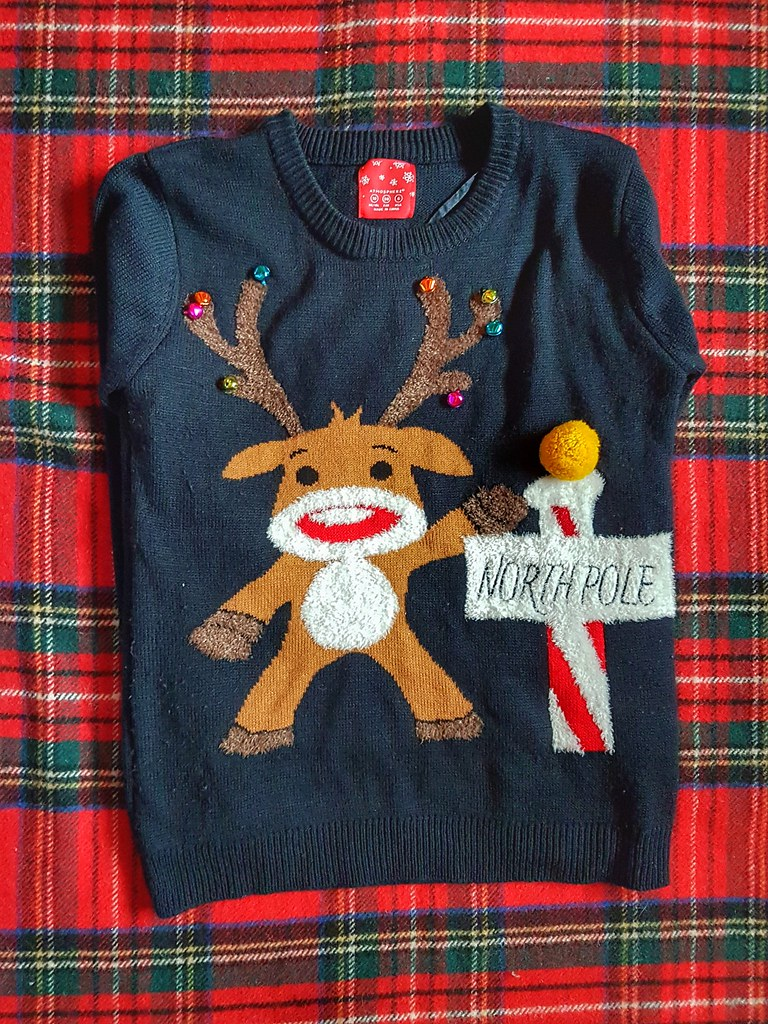 North Pole Jingle Bells Sweater