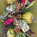 Thanksgiving Table Runner by Sandy Schroeck, AIFD, PFCI