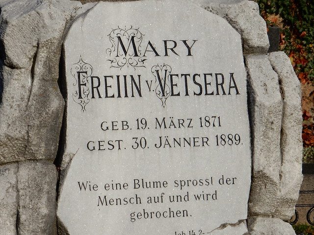 Grab von Mary Vetsera