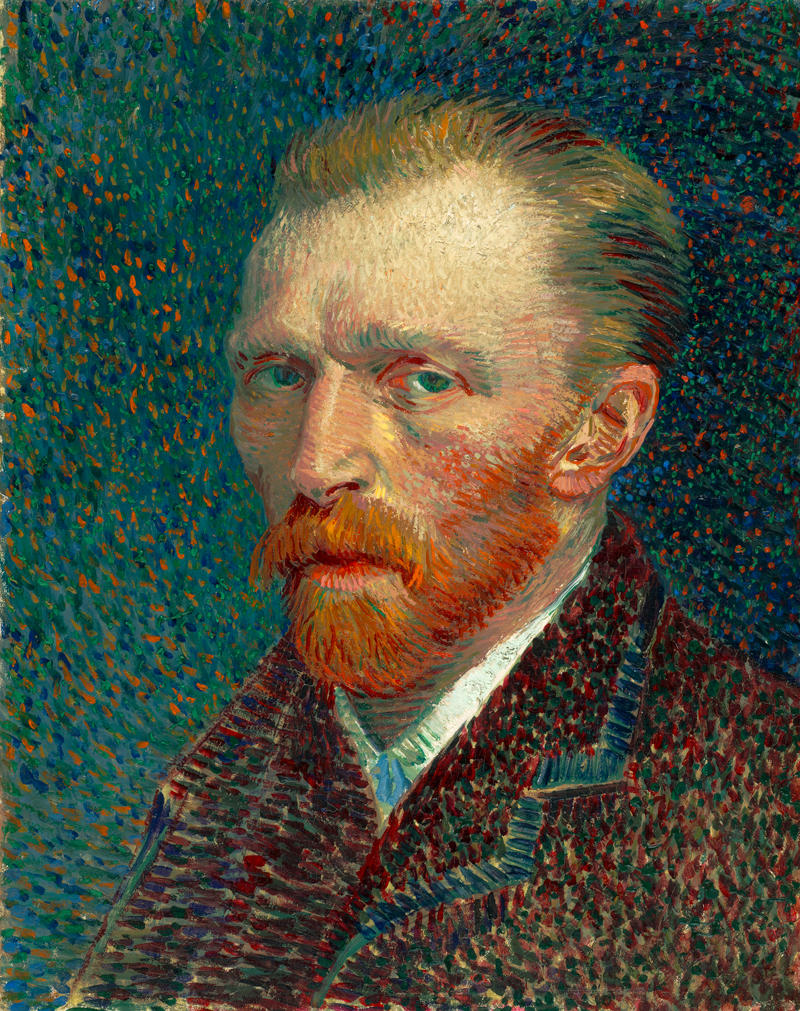 Self-Portrait by Vincent van Gogh, 1887