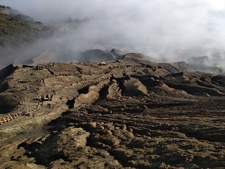 Sparated by the fog between the sky and earth.  Visit & Join us for best picture  what will you see in Bromo Volcano. East Java, Indonesia.  Plan your trip & holiday.  we have best offer package to travel to Bromo Volcano &  Ijen Crater. For more Informat