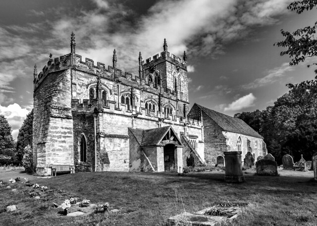 Wootton Wawen, Warwickshire. St.Peter's Church