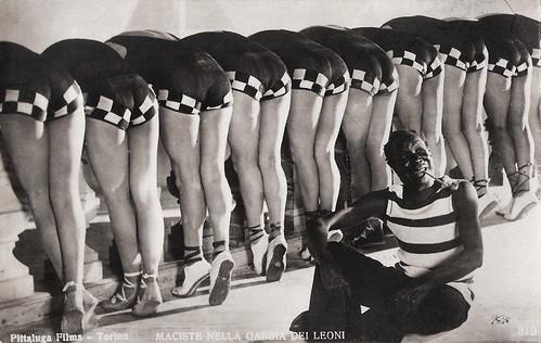 Maciste nella gabbia dei leoni (1926)
