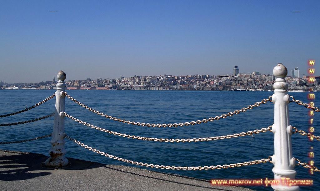Город Стамбул — Турция с фотоаппаратом прогулки туристов