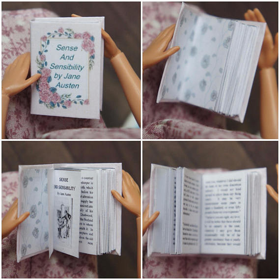 Miniature Books - Jane Austen Collection