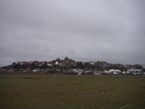 Rye across the marsh