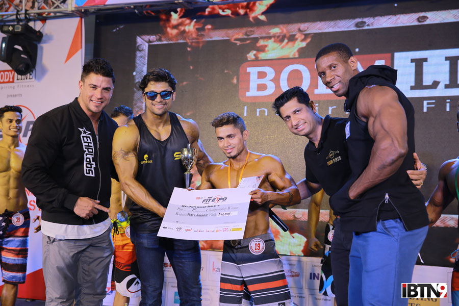 FitExpo2017---Jaco-De-Bruyn,Sumit-Banerjee,-Winner-of-Men's-Sport-Physique,-International-conditioning-coach,-Harry-Sandhu-&-Max--The-Body-Philisaire(R)