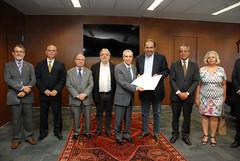 Assinatura de termo de cooperação entre TJMG e PBH
