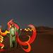 Lightpainting in Sahara... by Cisco Lightpainting