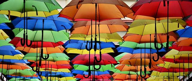 Umbrellas Dance