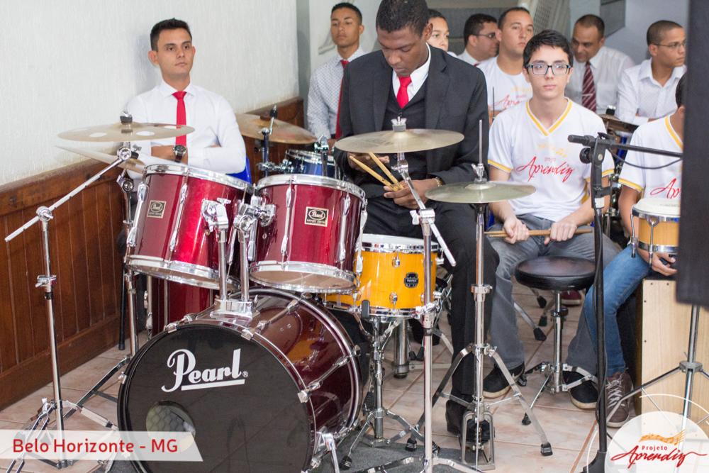 Formatura do Projeto Aprendiz em Belo Horizonte - MG
