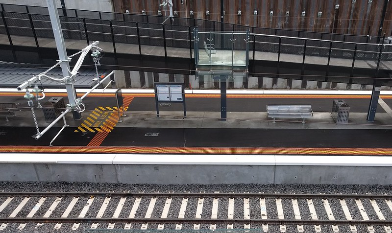 Bentleigh station ramp