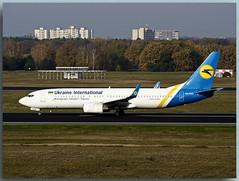 Boeing 737-85R (UR-PSG)— Ukraine International Airlines