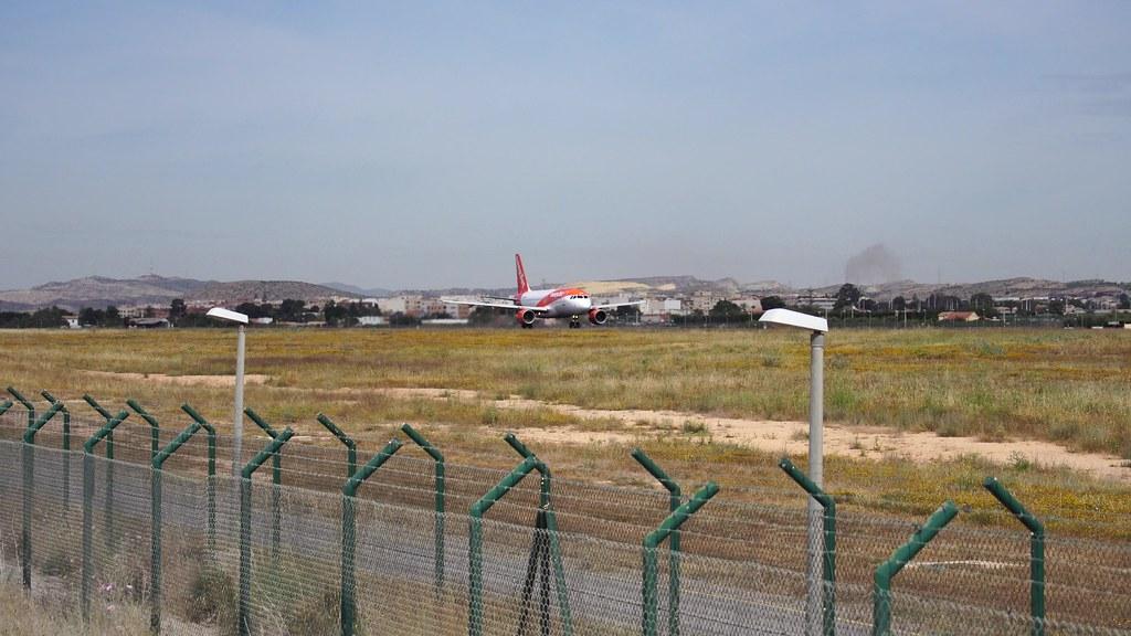 Alicante Airport.