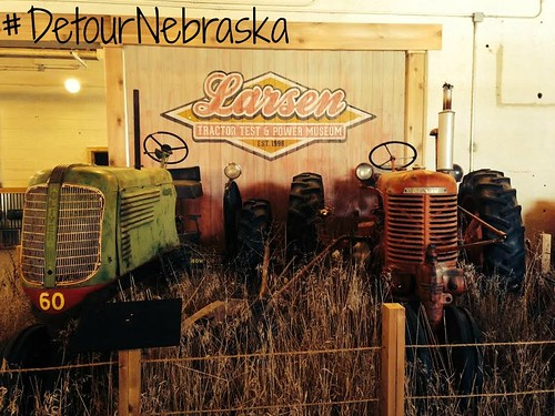 Larsen Tractor Test and Power Museum. From Seven Quirky Nebraska Detours