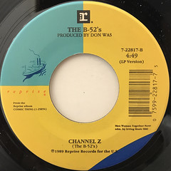 THE B-52'S:LOVE SHACK(LABEL SIDE-B)