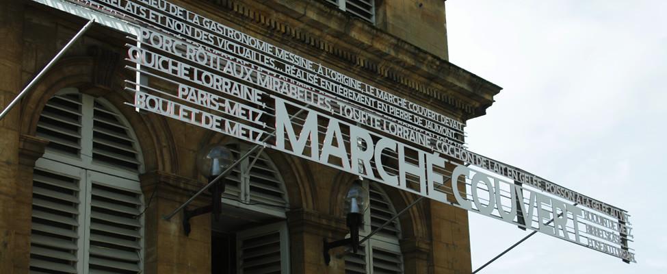 Stedentrip Metz, bezienswaardigheden Metz: Marché Couvert | Mooistestedentrips.nl