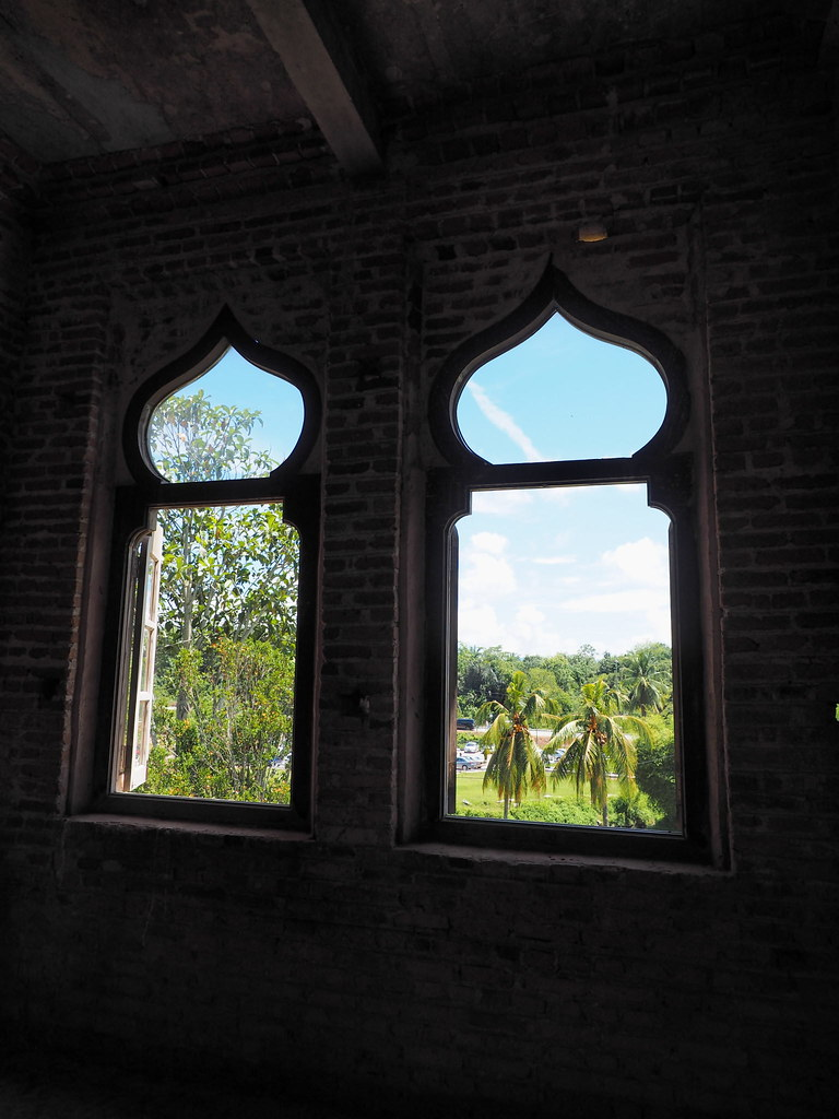 Twin window at Kellie's Castle