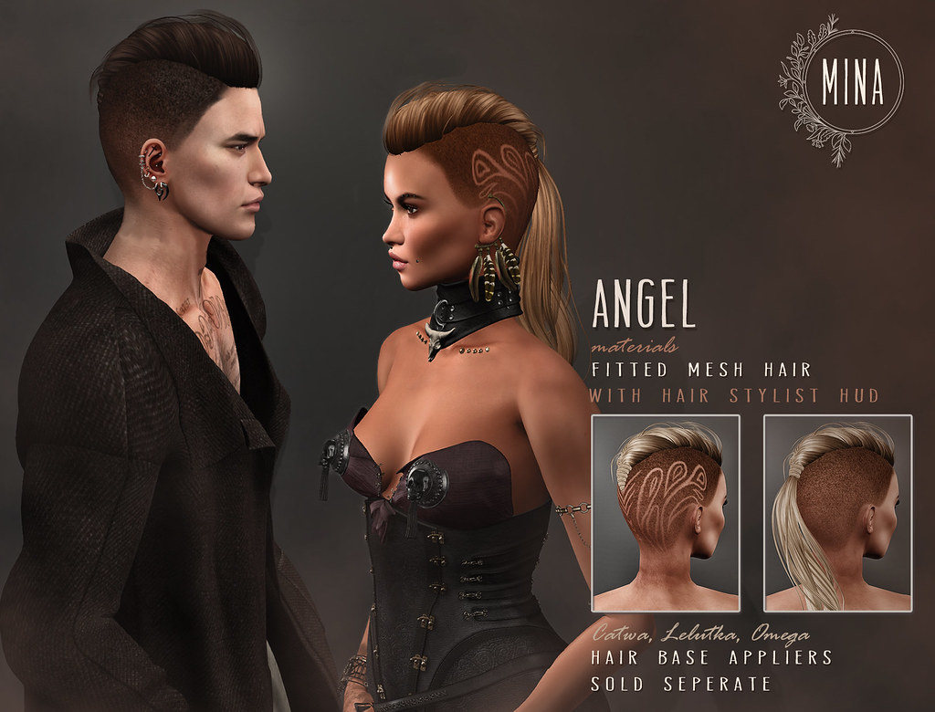 MINA Hair - Angel for Remnant - TeleportHub.com Live!