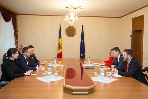 14.11.17 Întrevederea președintelui Parlamentului Andrian Candu cu Rastislav Vrbensky, Directorul Regional Adjunct al Biroului Regional al PNUD pentru Europa și CSI