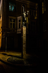 The Lamptighter, Vilnius, Lithuania