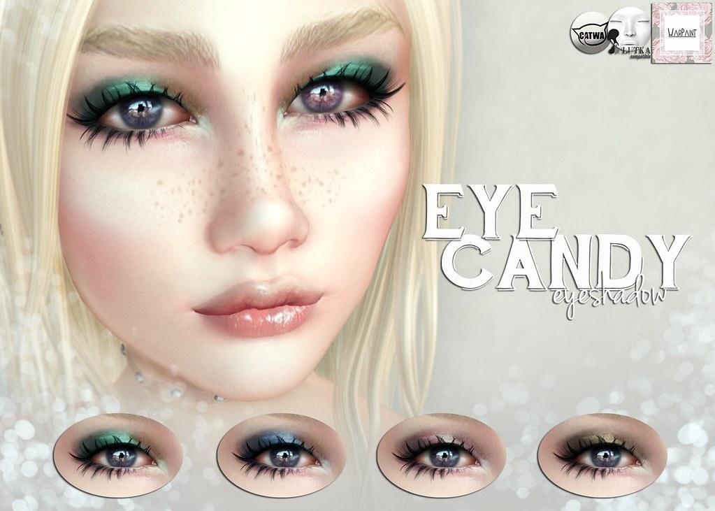 WarPaint* @ Candy Fair - Eye Candy eyeshadow - TeleportHub.com Live!