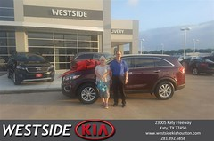 #HappyBirthday to Farrel from Antonio Page at Westside Kia!