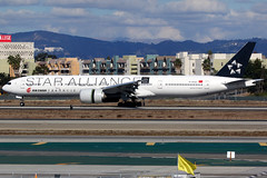Air China | Boeing 777-300ER | B-2032 | Star Alliance livery | Los Angeles International
