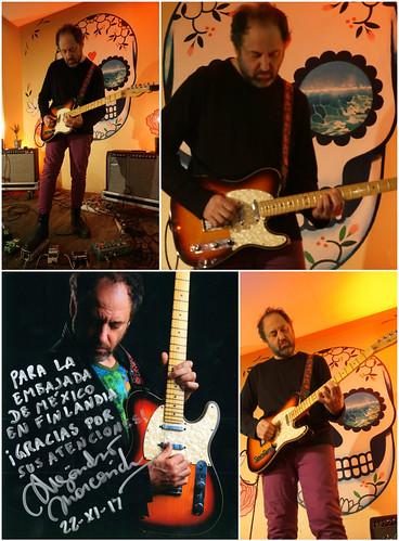 Ex guitarrista de Caifanes se presenta en Helsinki