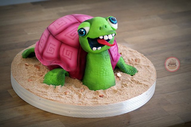 Turtle 3D Cake by Torty Kraków - TortLove