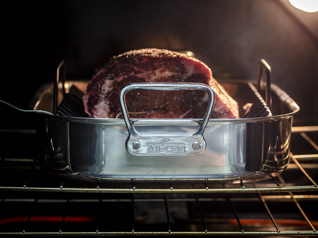 Prime Rib Roast with All-Clad