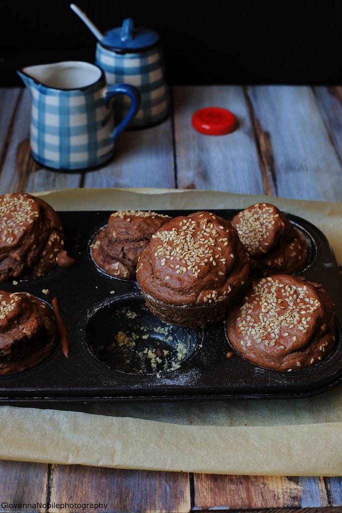 Muffin al cacao e nocciole 3