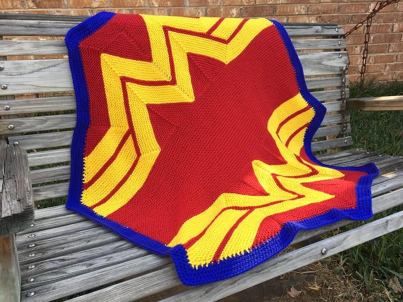 Wonder Woman Blankie