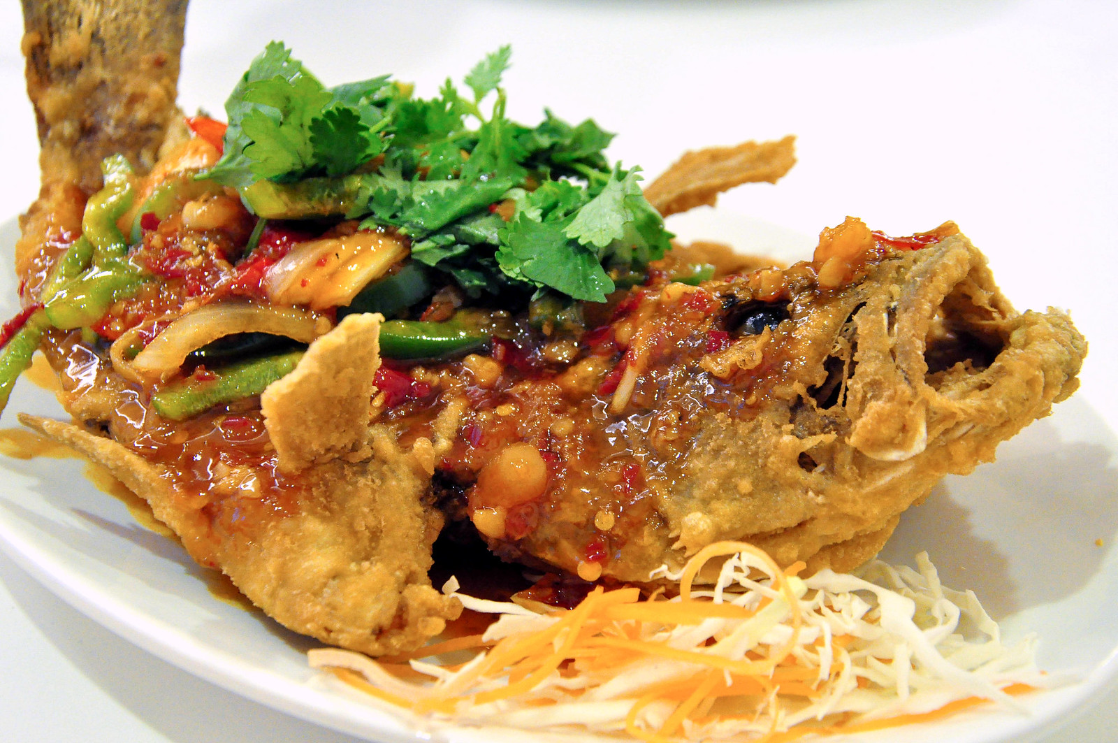 Magic Wok - Thai Style Fried Fish