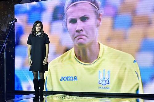 Футболістка з Дюксина знову найкраща в Україні