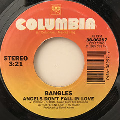 BANGLES:WALK LIKE AN EGYPTIAN(LABEL SIDE-B)