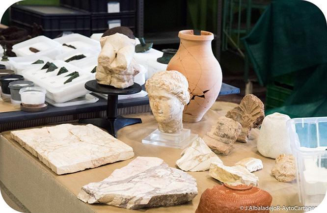 358 piezas reflejan los 2000 años de historia del Barrio del Foro