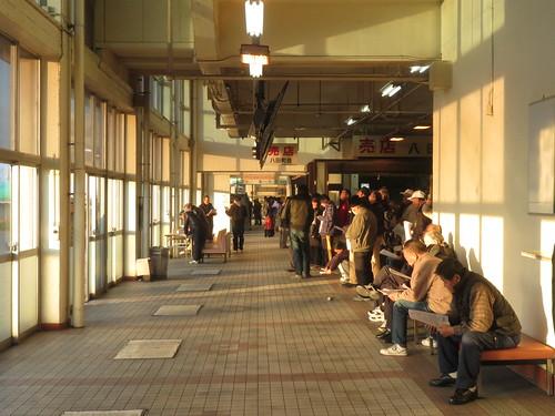 金沢競馬場のスタンド1階