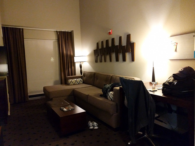 our room @ Hyatt House Seattle/Redmond