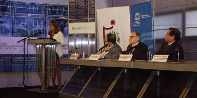 """Instituto de Derechos Humanos y Desarrollo de la USMP realizó el seminario """"Mujer, Derechos y libertad de expresión"""""""