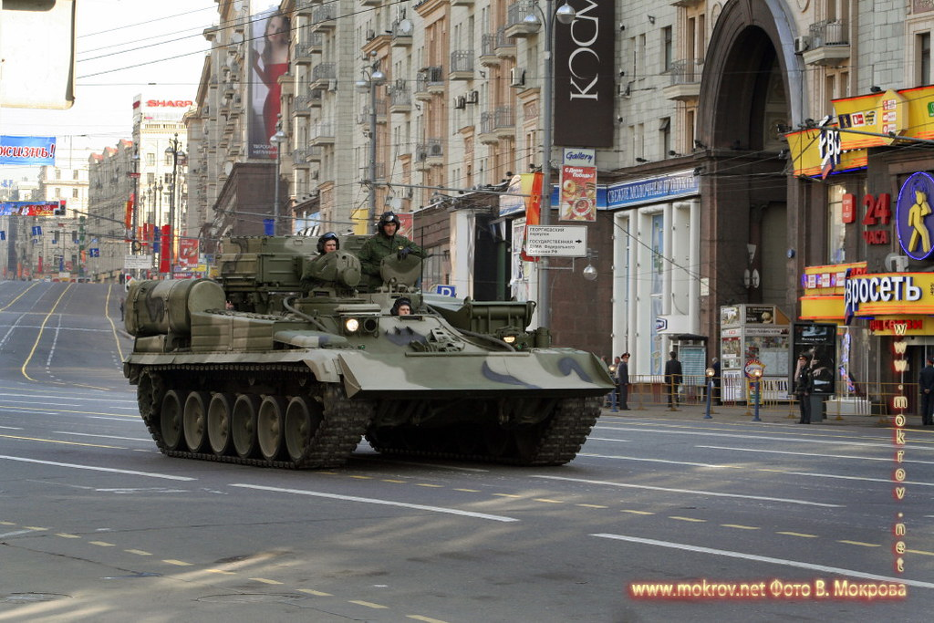 Военный парад 9 мая 2008 г. в Москве фотозарисовки