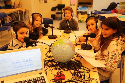 Taller radiofònic a Sant Quirze del Vallès