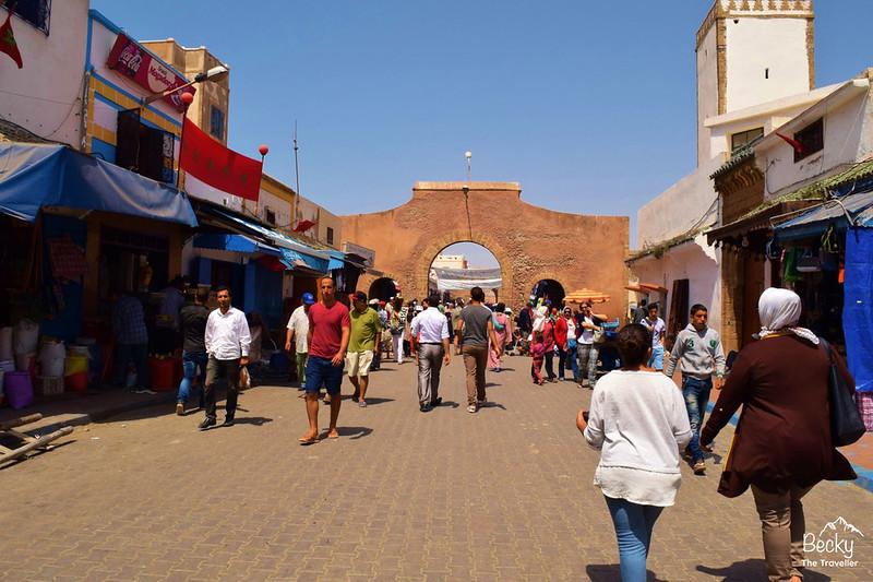 Moroccan Hamman Essaouira Experience - streets in Essaouira