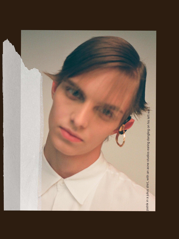 partik acne studios earing