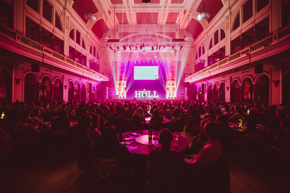 Hull Comedy Festival Unleashed. Photo © Chris Pepper.