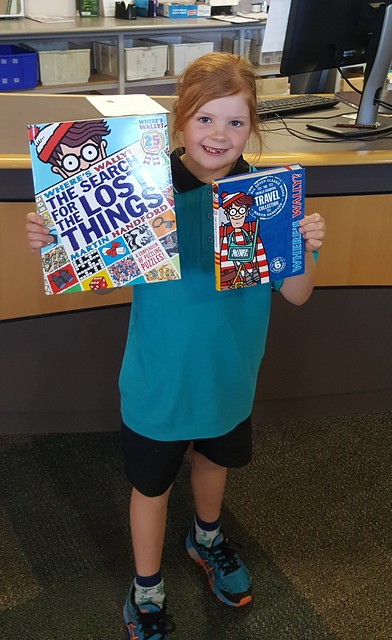Ellie - Winner, Coolbellup Library